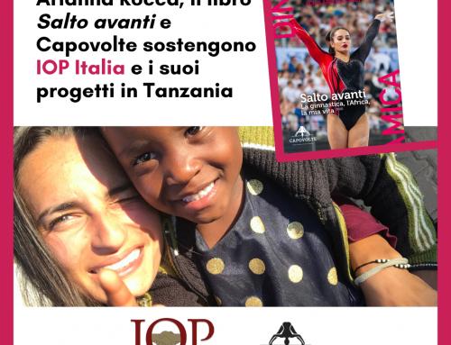 Capovolte, Arianna Rocca e Salto avanti a sostegno di IOP Italia