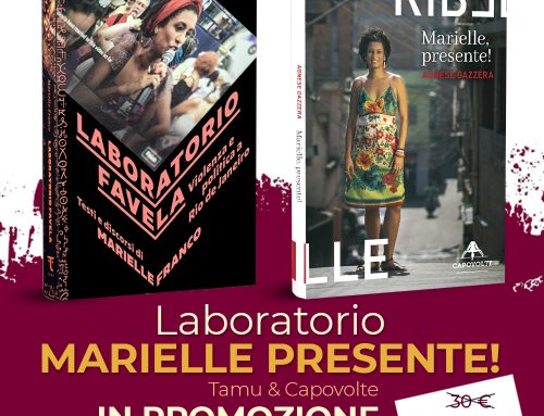 Laboratorio Marielle presente! Un'offerta con Tamu edizioni dedicata Marielle Franco