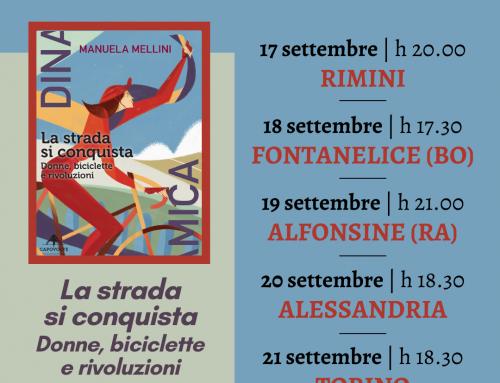 """Manuela Mellini in tour per presentare """"La strada si conquista"""""""