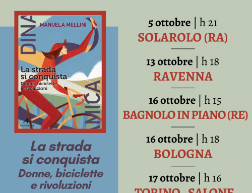 Manuela Mellini in Italia per un secondo tour